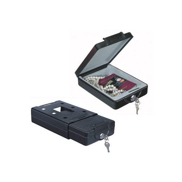 Travel Safe autószéf kulcsos zárral 220x163x66mm