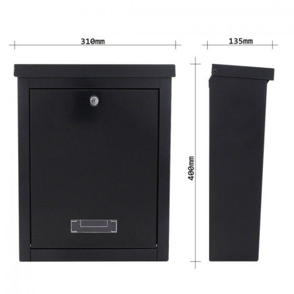 Brighton postaláda fekete színben 400x310x135mm