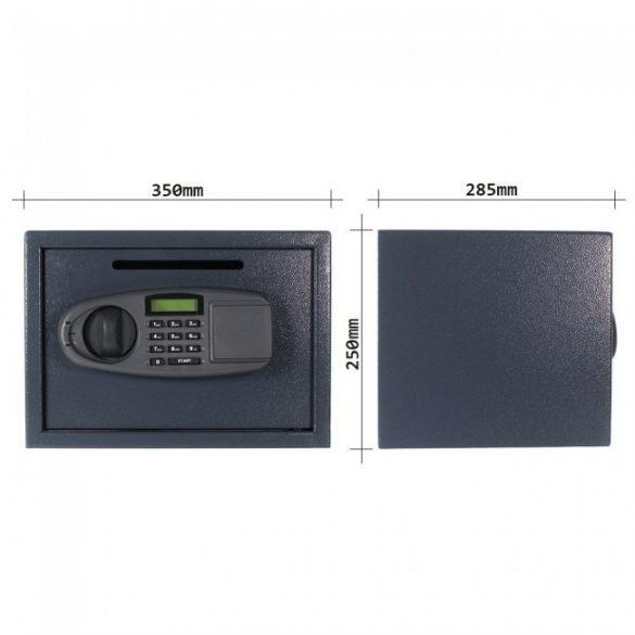 Lettera széf bedobónyílással 250x350x285mm
