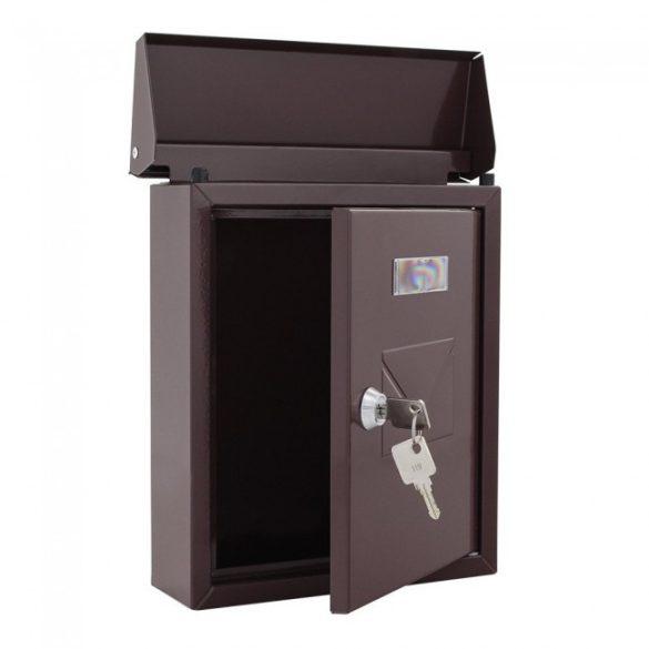 Cesena postaláda barna színben 250x210x70mm