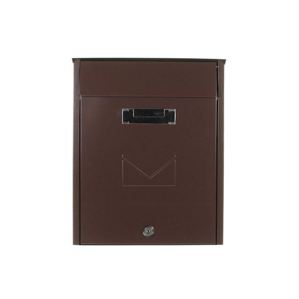 Tivoli postaláda barna színben 335x260x120mm