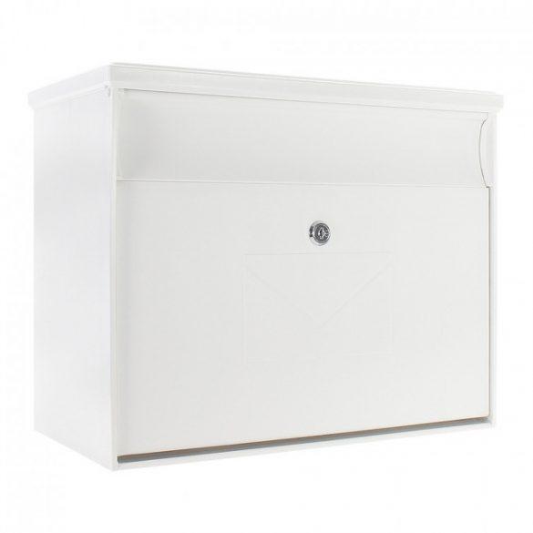 Toronto műanyag fehér postaláda 350x400x210mm