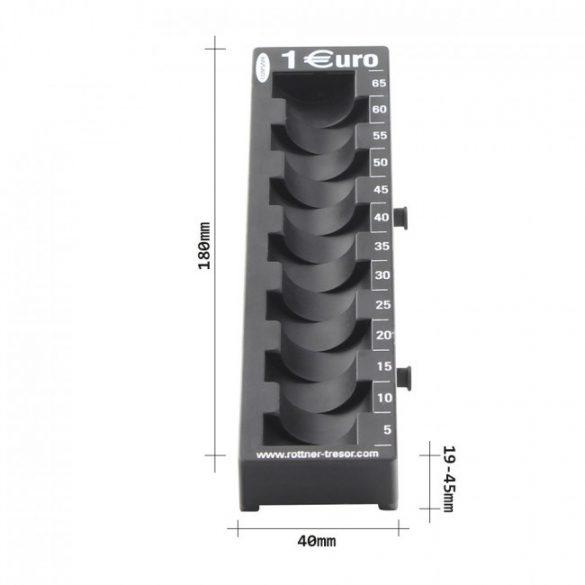 Coin Rail Euro1 érmetálca 45x40x180mm