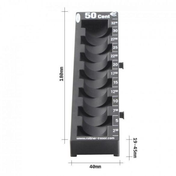 Rottner 50 cent éremtálca 45x40x180mm