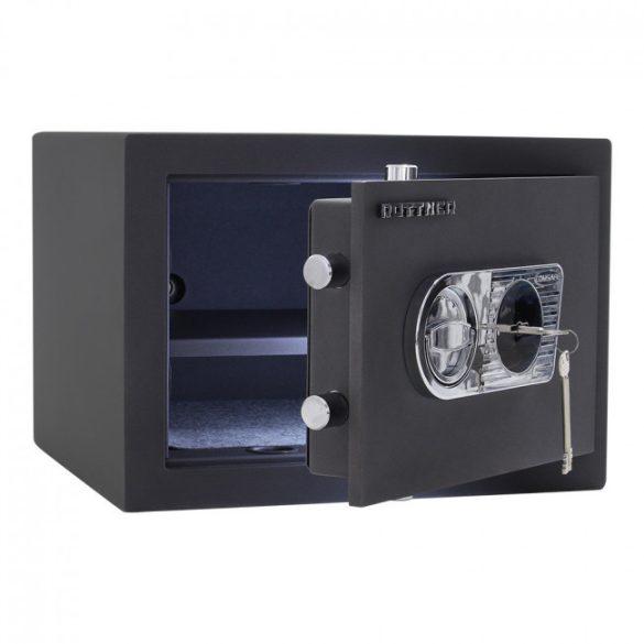 Toscana40 páncélszekrény kulcsos zárral 300x420x390mm