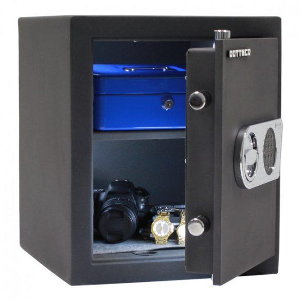 Toscana50 páncélszekrény elektronikus zárral 420x350x380mm