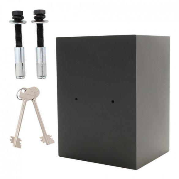 Toscana65 páncélszekrény kulcsos zárral 660x490x410mm