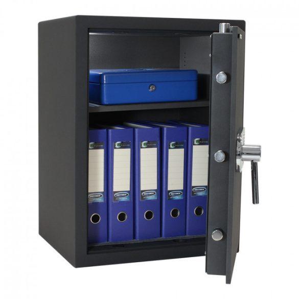 Toscana65 páncélszekrény elektronikus zárral 660x490x410mm