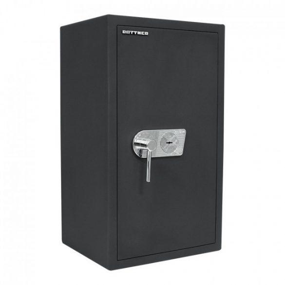 Toscana85 páncélszekrény kulcsos zárral 860x490x410mm