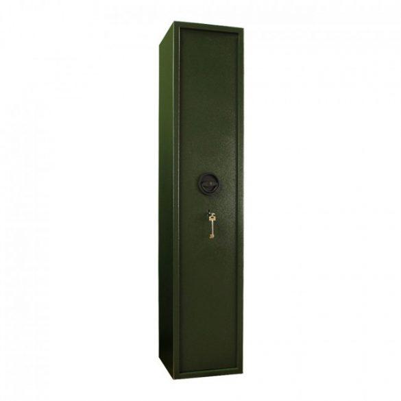 Montana5 fegyverszekrény kulcsos zárral 1450x300x340mm