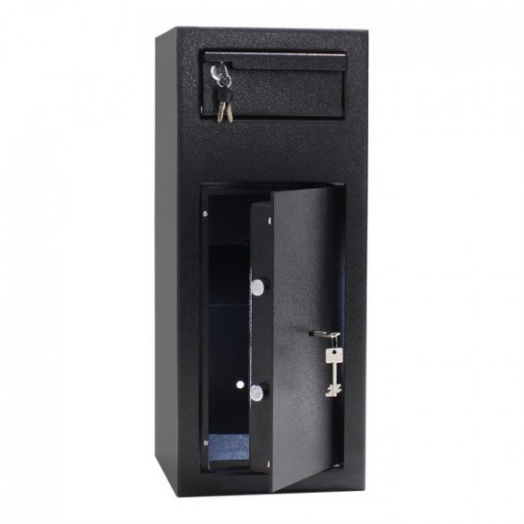 Cashmatic1 kulcsos bedóbófiókos széf kulcsos zárral 600x250x260mm