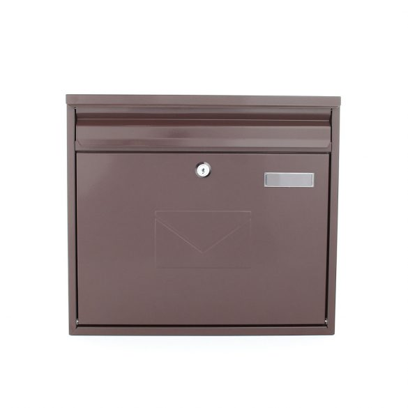 Teramo postaláda barna színben 320x360x80mm