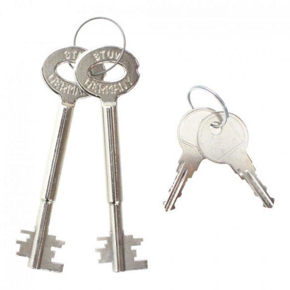 StoneSE45 Premium fali páncélszekrény kulcsos zárral 430x490x385mm