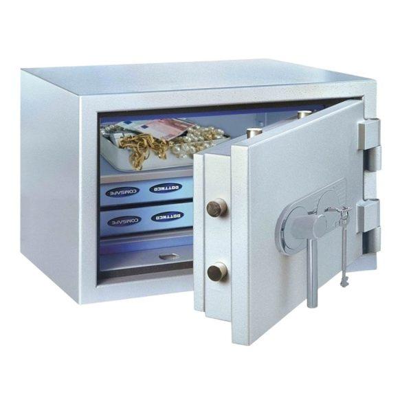 SuperPaper65 Premium tűzálló irattároló páncélszekrény kulcsos  zárral