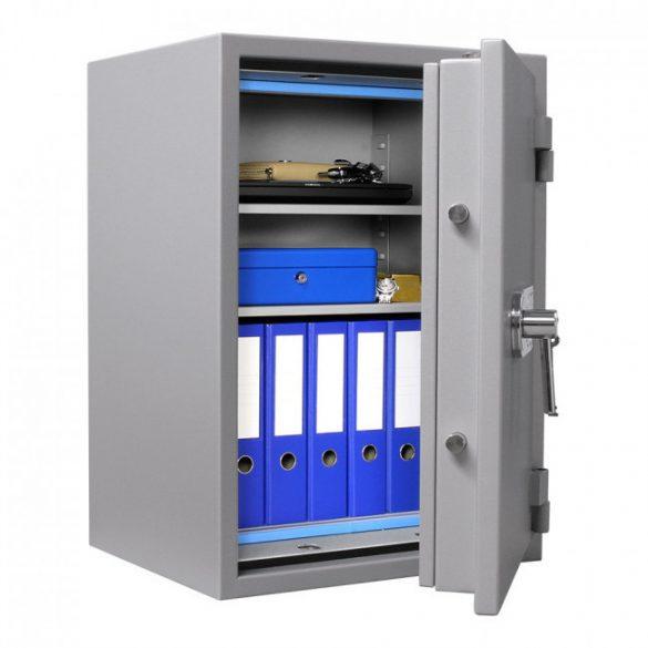 SuperPaper80 Premium tűzálló irattároló páncélszekrény kulcsos zárral 820x600x480mm