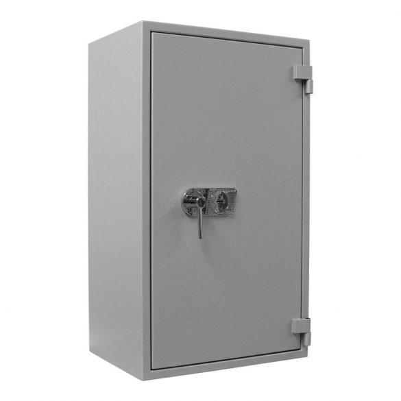 SuperPaper120 Premium tűzálló irattároló páncélszekrény kulcsos zárral 1200x700x480mm