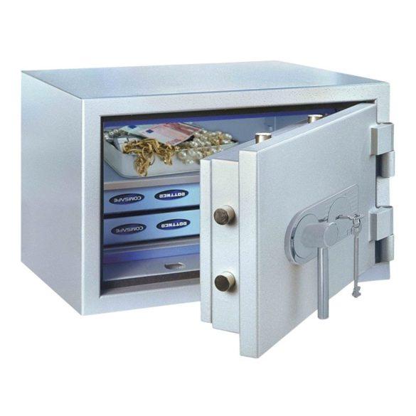 SuperPaper70 Premium tűzálló irattároló páncélszekrény kulcsos zárral 730x600x480mm