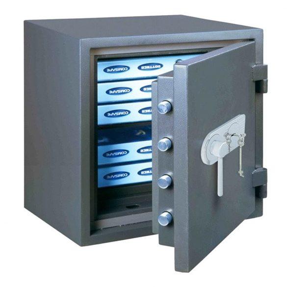 FireProfi65 Premium tűzálló páncélszekrény elektronikus zárral 670x480x455mm