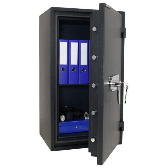 FireProfi100 Premium tűzálló páncélszekrény kulcsos zárral 980x545x455mm