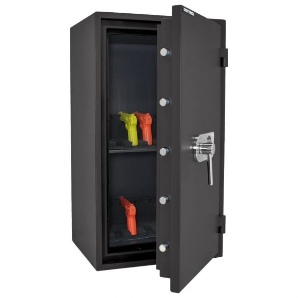 FireProfi100 Premium tűzálló páncélszekrény elektronikus zárral 980x545x455mm