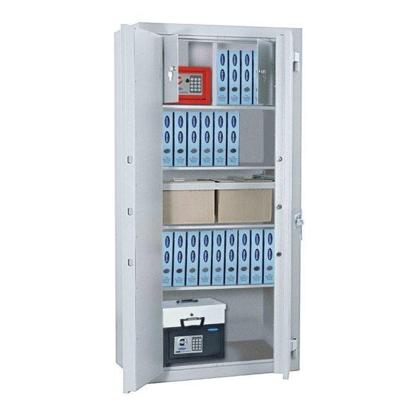 Office 4 Premium irattároló páncélszekrény elektronikus zárral 1951x1250x520mm