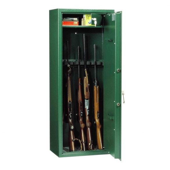 WF150 Premium fegyverszerkrény kulcsos zárral 1500x630x360mm