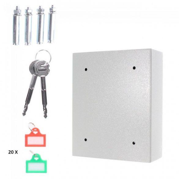 KeyTronic20 kulcstároló széf elektronikus zárral 300x245x100mm