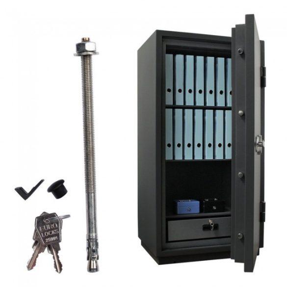Sydney140 tűzálló páncélszekrény elektronikus zárral 1390x710x625mm