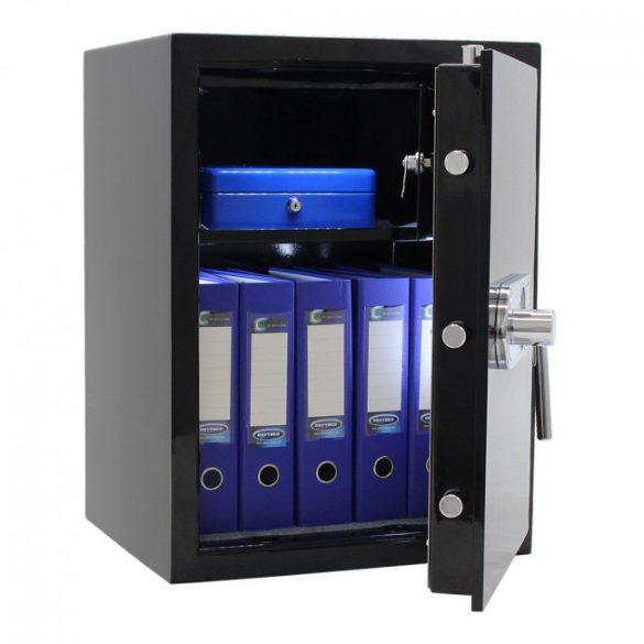 Design páncélszekrény elektronikus zárral 660x490x410mm