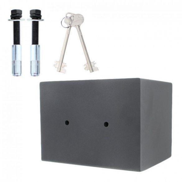 Toscana26 páncélszekrény kulcsos zárral 280x370x280mm