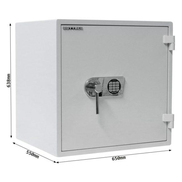 Opal Fire OPD-65 Premium tűzálló páncélszekrény elektronikus zárral 638x650x550mm