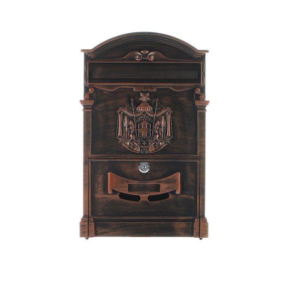 Ashford Antique postaláda barna színben 410x260x90mm