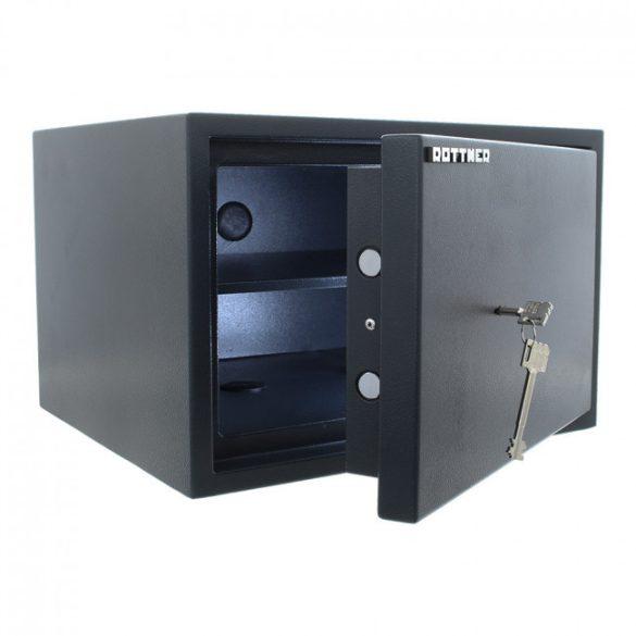Power Safe 300 betörésbiztos páncélszekrény kulcsos zárral 300x445x400mm