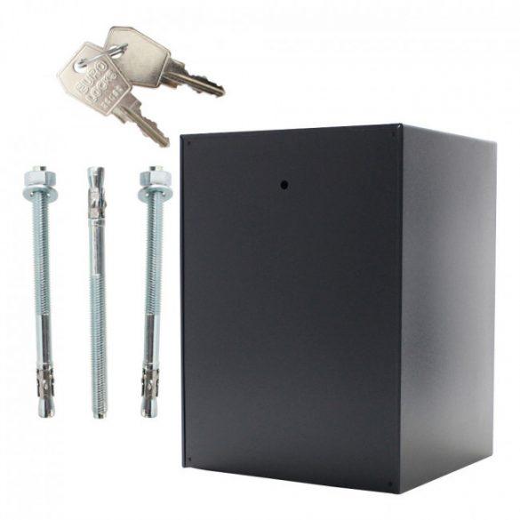 Power Safe 600 betörésbiztos páncélszekrény elektronikus zárral 600x445x400mm