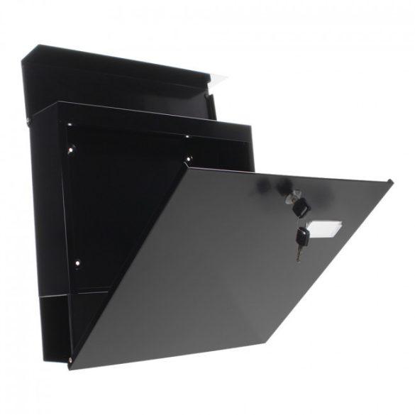 Kensington postaláda fekete színben 370x370x105mm