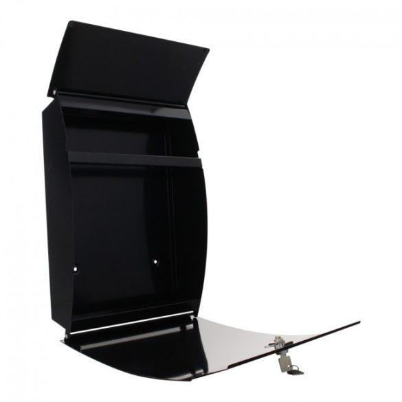 Harrow postaláda fekete színben 460x320x105mm