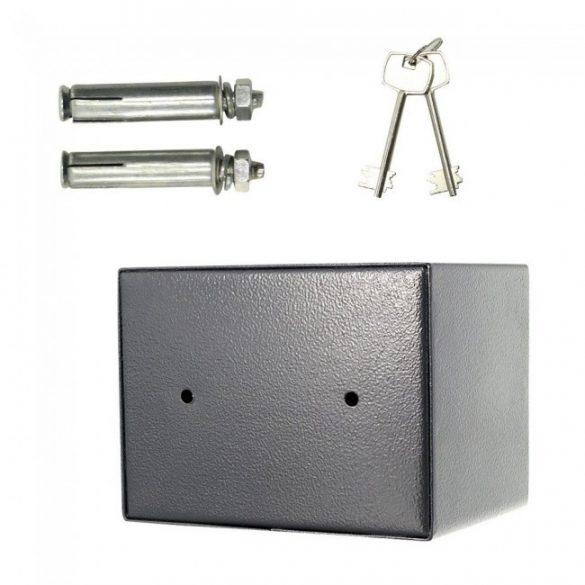 Saturn Le-mini bútorszéf kulcsos zárral 150x200x150mm