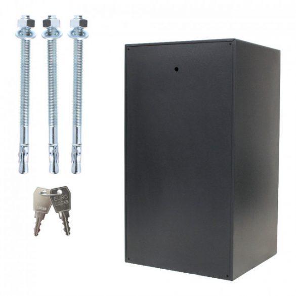 Power Safe 800 betörésbiztos páncélszekrény elektronikus zárral 800x445x440mm