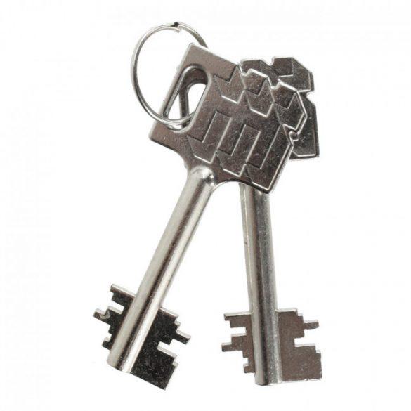 Delta30 fali páncélszekrény kulcsos zárral 330x430x270mm