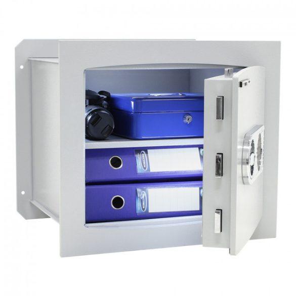 Delta40 fali páncélszekrény elektronikus zárral 430x490x385mm