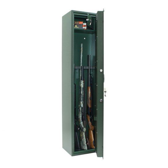 Select8-S1 fegyverszekrény kulcsos zárral 1600x400x320mm