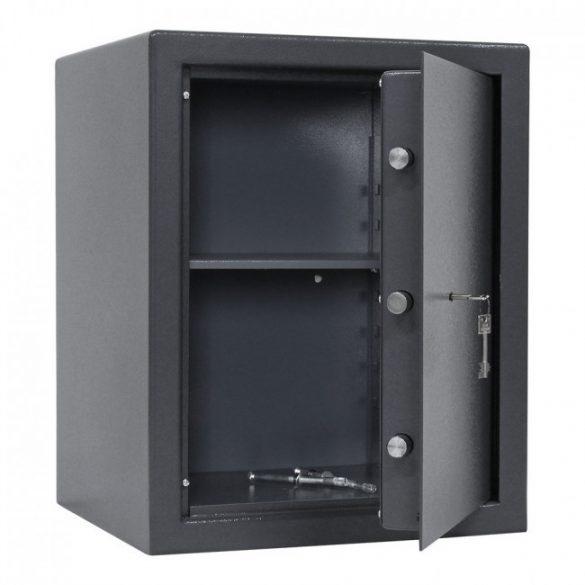 Clever B5 páncélszekrény kulcsos zárral 520x420x380mm