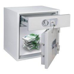 D1 70 bedobódiókos páncélszekrény kulcsos zárral 670x650x550mm