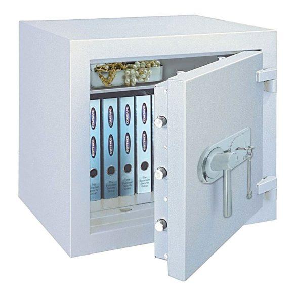 Po65 Premium tűzálló páncélszekrény kulcsos zárral 670x510x510mm