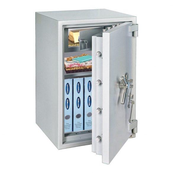 Projekt100 tűzálló páncélszekrény kulcsos zárral 1010x550x520mm