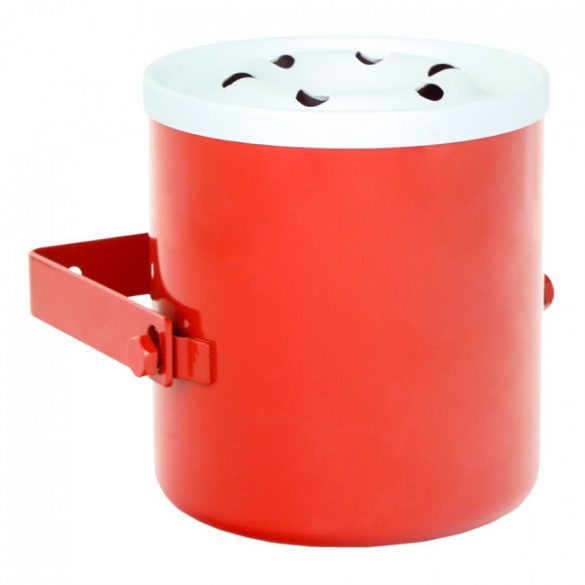 Homestar hamútartó piros színben 160x165x180mm