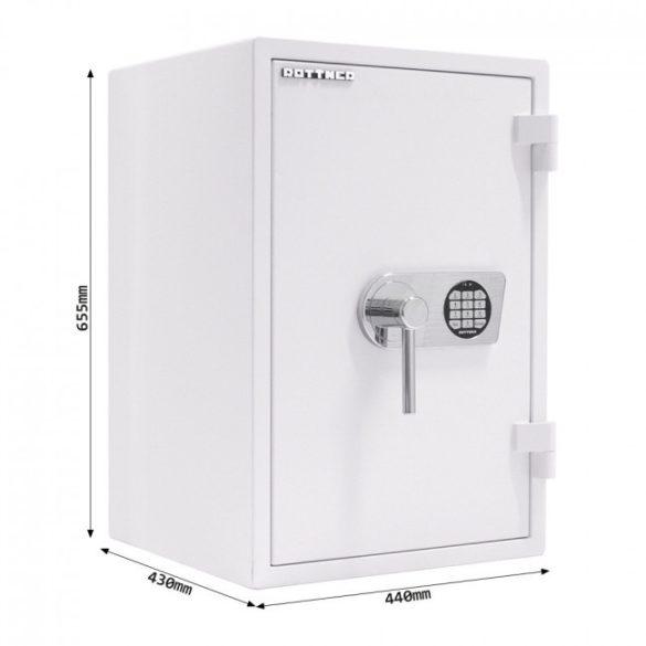 Atlas65 tűzálló bútorszéf elektronikus zárral 655x440x430mm