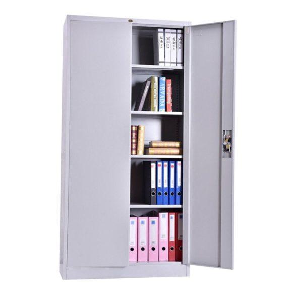 Rsr 3/20 irodai dokumentum tároló szekrény kulcsos zárral 1850x900x400mm