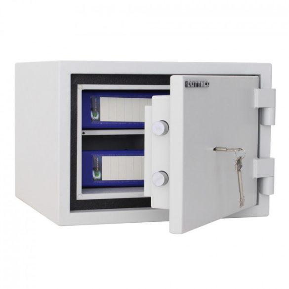FireSafe30 betörésbiztos és tűzálló páncélszekrény kulcsos zárral 315x445x450mm