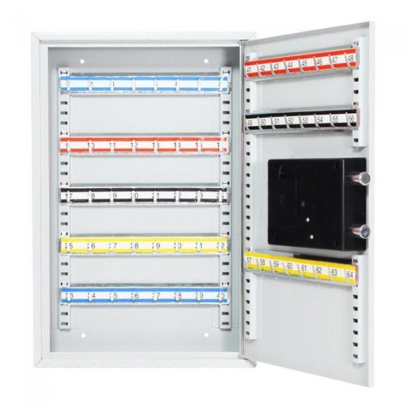 S64 kulcsszekrény elektronikus zárral 450x300x80mm